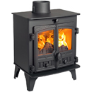Hunter Stoves Compact 5 Multi Fuel Wood Burning Stove _ solid-fuel-stoves