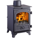 Hunter Stoves Hawk 3 Multi Fuel Wood Burning Stove _ solid-fuel-stoves
