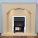 Harrier Fireplaces Sippi Traditional Electric Fireplace Suite