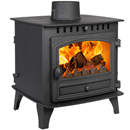 Hunter Stoves Herald 6 Double Sided SD Multi Fuel Wood Burning Stove