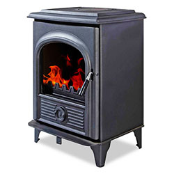 Alpha Stoves II Multifuel Woodburning Defra Stove