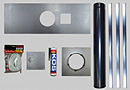 5 inch Stove Install Kit-Plate size 1075mmx380mm