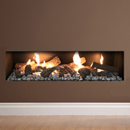 Apex Fires Liberty 10 Frameless Open Fronted Gas Fire _ hole-in-the-wall-gas-fires