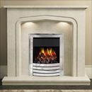 Bemodern Cassola Plus Fireplace Surround with Downlights _ marble-and-limestone-surrounds