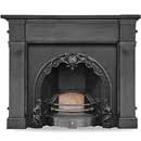 Carron Cherub Cast Iron Insert _ cast-iron-surrounds