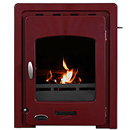 Carron 4.7kW Darwin Red Enamel Inset Multifuel Stove _ inset-stoves
