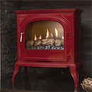 Eko Fires 6010 Burgundy Flueless Gas Stove _ catalytic-flueless-gas-stoves