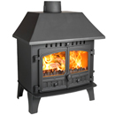 Hunter Stoves Herald 14 Multi Fuel Wood Burning Stove