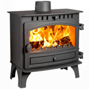 Hunter Stoves Herald 8 Slimline Multi Fuel Wood Burning Stove