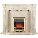 Nexis Fireplaces Aldford Onyx Fireplace Surround _ stone-and-marble-effect-surrounds