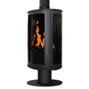 Oak Stoves Drifter Pedestal Balanced Flue Gas Stove _ balanced-flue-gas-stoves