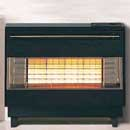 Robinson Willey Firegem Visa Highline Electronic Ignition Black Gas Fire