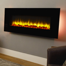 Apex Fires Georgia Black Wall Mounted Electric Fire _ hole-and-hang-on-the-wall-electric-fires