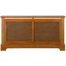 Winther Browne Georgian Large Oak Radiator Cover