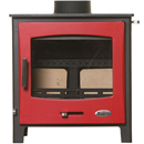 Woolly Mammoth 7 RED DOOR Multifuel Stove DEFRA _ multifuel-stoves